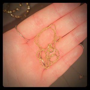 18k gold chain choker